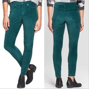Universal Thread High-Rise Velvet Skinny Jeans